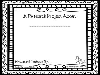 Bat Research Project & Mini Book