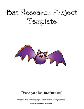 Bat Research Project Template