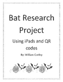 Bat Research writing using iPads and QR Codes