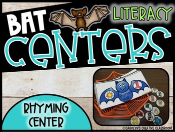 Bat Rhyming Literacy Center