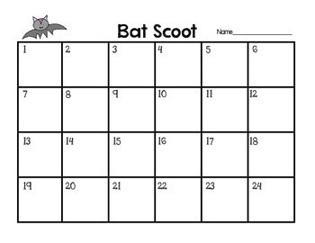 Bat Scoot! A Review Game All About Bats
