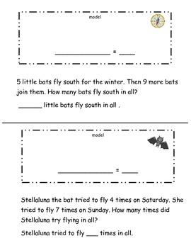 Bat Story Problems