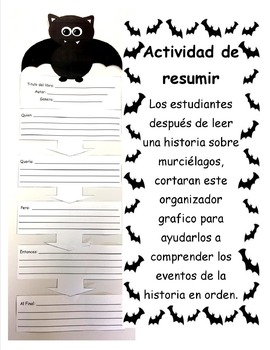 Bat Summarizing Activity