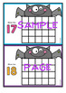 Bat Ten Frame Activity Cards