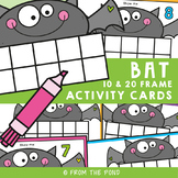 Bat Ten and twenty Frame Activity Cards