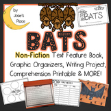 Bats Non-Fiction Text Feature Book and Writing Activity