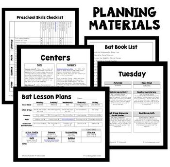 Bat Theme Preschool Lesson Plans