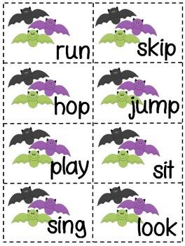 Bat Themed Literacy Centers