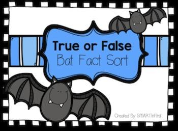 Bat True or False Activity