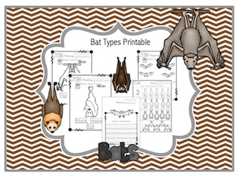 Bat Types Printable