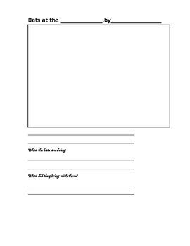 Bat Unit Activity Guide and Printables