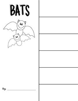 Bat Vocab Flip-Book {A Freebie}