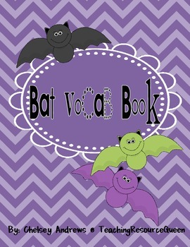 Bat Vocab Flip-Book {A Freebie}