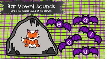 Bat Vowel Sounds-A Digital Literacy Center