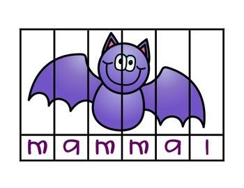 Bat Words Puzzles