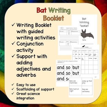 Bat Writing Booklet