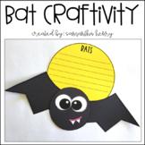 Bat Writing Craftivity