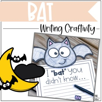 Bat Writing Craftivity