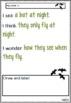 Bat Writing Tasks