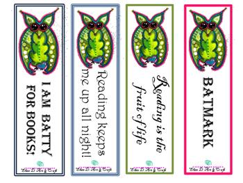 Bat bookmarks