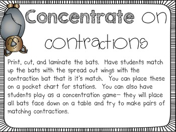 Bat-tastic Contractions