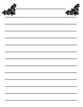 Bat writing freebie using QR code