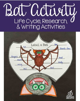 Bat Activity, Editable Writing Prompts
