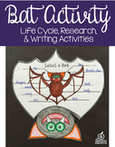 Bat Activity, Editable Writing Prompts