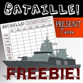 Bataille!  French Verb Conjugation in a Battleship Scenario