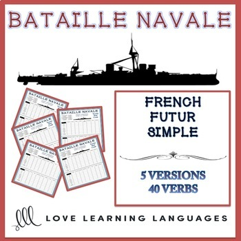 Futur Simple Bataille Navale French Future Tense Battleship Game