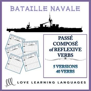Bataille Navale - Passé Composé of Reflexive Verbs