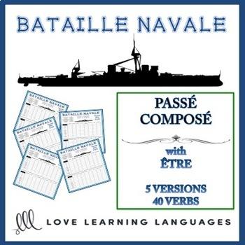 Bataille Navale - Passé Composé with Être
