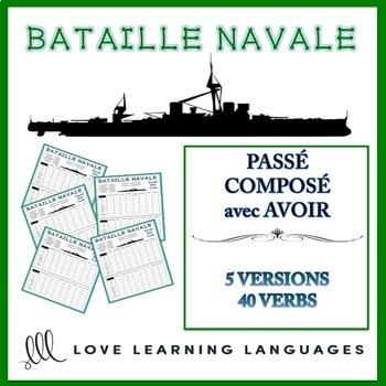 Bataille Navale - Passé composé with AVOIR - Regular verbs