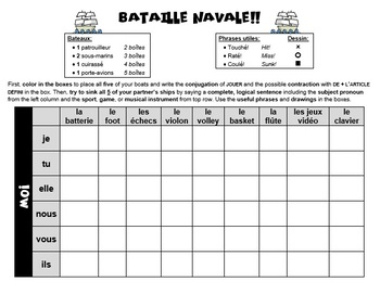 Bataille navale (Battleship) - Jouer à or de with sports, games, & instruments