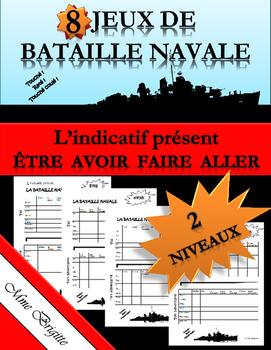 Batailles navales avec : être, avoir, faire et aller