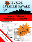 Batailles navales en français!  French Battleship!