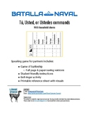 Batalla Naval Household Chores - Commands for Tú, Usted(es