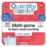 Quantity Battle! - Math game to learn visual counting