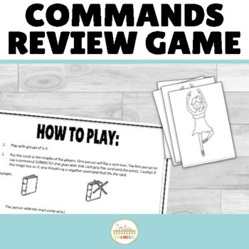 Spanish Commands Speaking Game Batalla de Mandatos