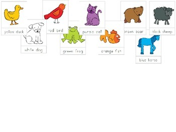 Brown Bear Brown Bear Lesson and Visuals for Music