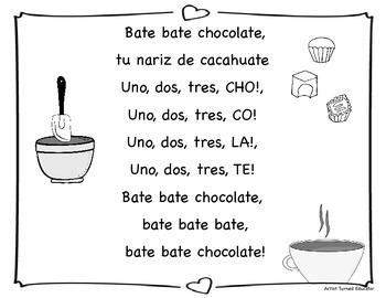 Bate Bate Chocolate (poster & book)