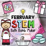 Bath Bomb Valentine's Day STEM Activity