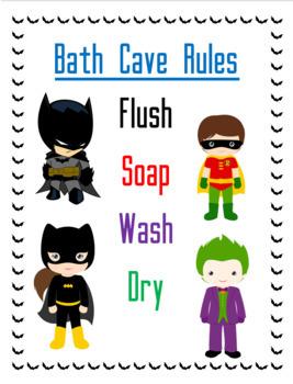 Bath Cave Rules