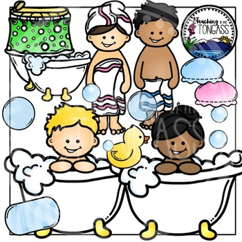 Bath Clipart Bundle