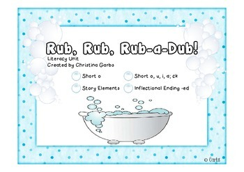 Bath - Short o and Other Literacy Activities