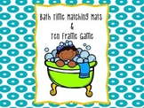 Bath Time Bubble Mats and Ten Frame Game