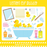 Bath Time-Digital Clipart (LES.CL16)