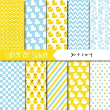 Bath Time-Digital Paper (LES.DP16)