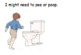 Bathroom (Accident Prevention) Social Story (w/ Desk Reminder)