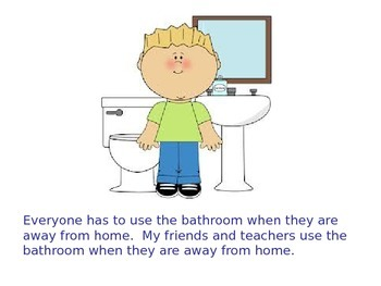 Bathroom Behavior Social Story